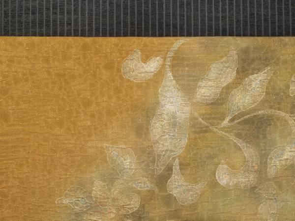 唐花草に鳳凰文 ふくれ織 袋帯 TABH02009風楽_画像2