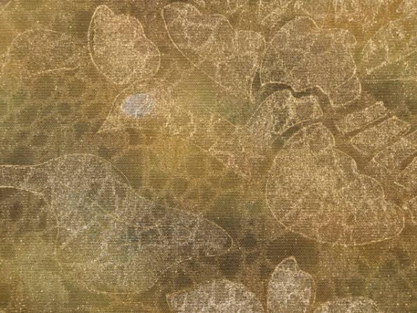 唐花草に鳳凰文 ふくれ織 袋帯 TABH02009風楽_画像3