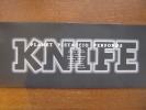 惑星ピスタチオパンフ「KNIFEナイフ」1995●腹筋善之介/保村大和