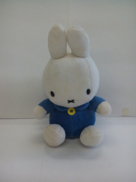 P2362♪Sekiguchi ミッフィー ぬいぐるみ 青 グッズの画像