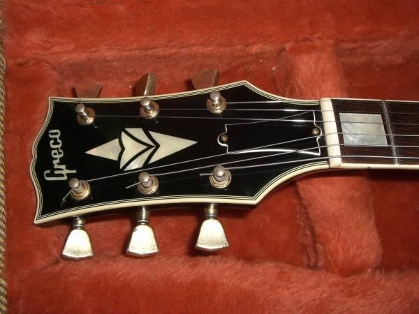 GRECO レスポールカスタム Les Paul Custom 極上品! ディープジョイント! 高級機! JAPAN Vintage ヴィンテージ GIBSON ギブソン JV グレコ_画像2
