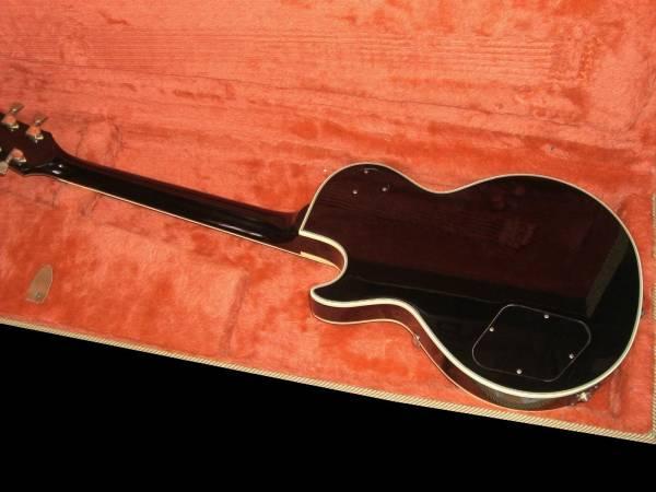GRECO レスポールカスタム Les Paul Custom 極上品! ディープジョイント! 高級機! JAPAN Vintage ヴィンテージ GIBSON ギブソン JV グレコ_画像3