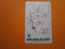 テレカ●● RED DATE PLANTS シデコブシ