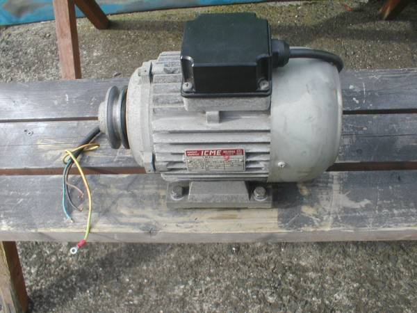 「モンドルフォホイールバランサーMONDOLFO MT1000 モーター実動品 (タイヤチェンジャー)」の画像