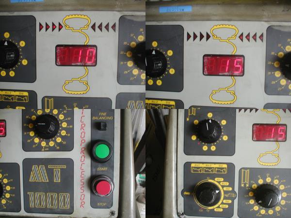 「モンドルフォホイールバランサーMONDOLFO MT1000 前面パネルのみ (タイヤチェンジャー)」の画像