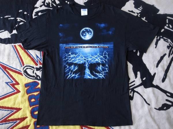 90's Eric Clapton PILGRIM WORLD TOUR 1998 Tシャツ L Cream
