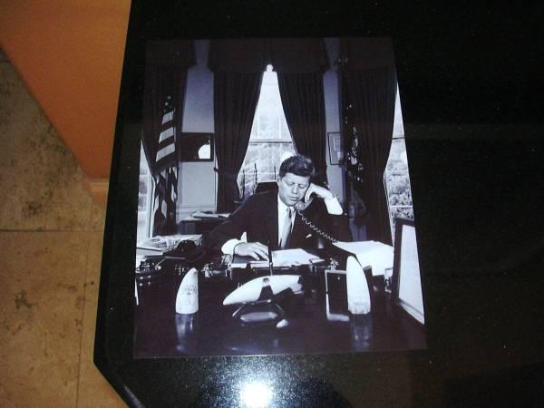 J F Kennedyケネディー大統領ホワイトハウス生写真 _画像3