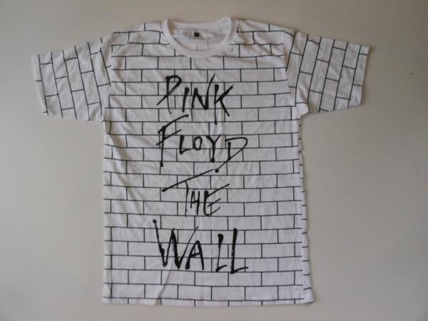 ★新品★ピンクフロイド/THE WALL≪総柄≫Tシャツ★プログレ/WH