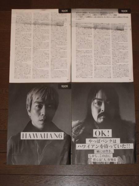 ★HAWAIIAN6★切り抜き★43ページ★