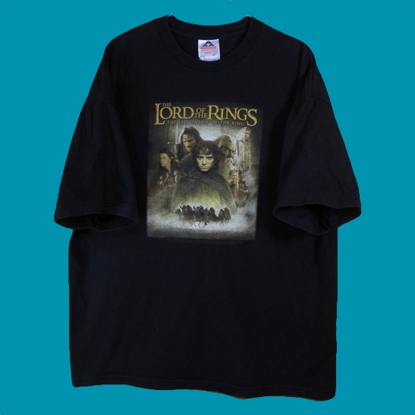 1276▼A A&A◆黒The Lord Of The Rings半袖Tシャツ◆US古着XL_画像2