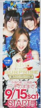 CRぱちんこAKB48 そのままで のぼり旗 横山高城板野 ライブ・総選挙グッズの画像