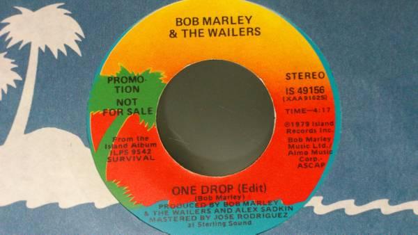 Bob Marley ボブ・マーリー One Drop レアバージョン プロモ_画像1