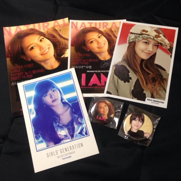 ◆公式◆スヨン6点SET ギャラクシー 缶バッチ少女時代 ポストカード 非売 /検テヨン ジェシカ ユナ ティファニー CD DVD サイン タオル コンサートグッズの画像