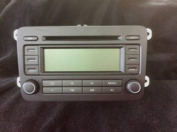 VW ゴルフ 純正 CD コンポ GH-1KBLP ステレオ デッキ