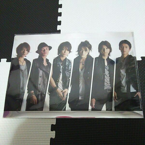 Break the records KAT-TUN クリアファイル