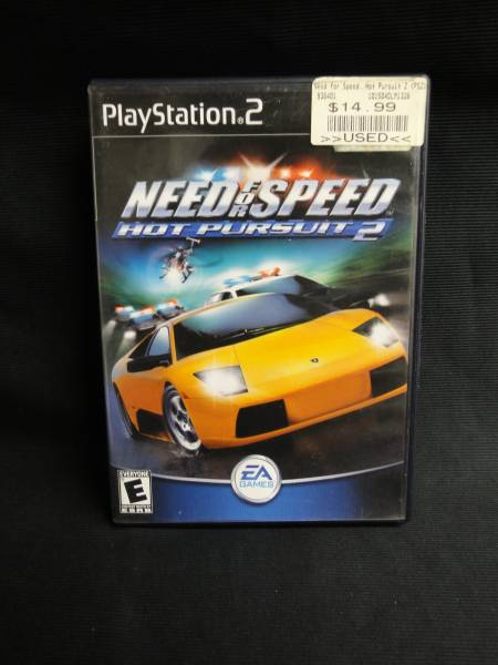 PS2 海外版 Need for Speed: Hot Pursuit 21