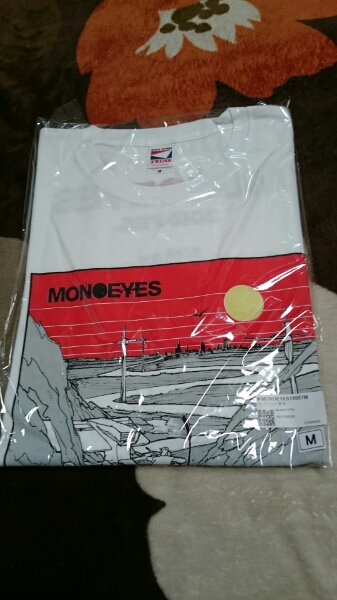 MONOEYES Tシャツ M (検 ELLEGARDEN THE HIATUS SKULLSHIT)