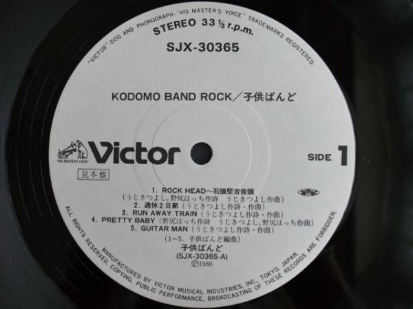 LP KODOMO BAND / ROCK'N'ROLL WILL NEVER DIE!!_画像2