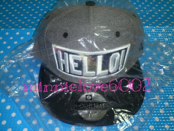 EXO★Greeting Party Hello★公式 グッズ★正規品★キャップ★帽子★グリパ★新品★完売★希少品!!_画像3