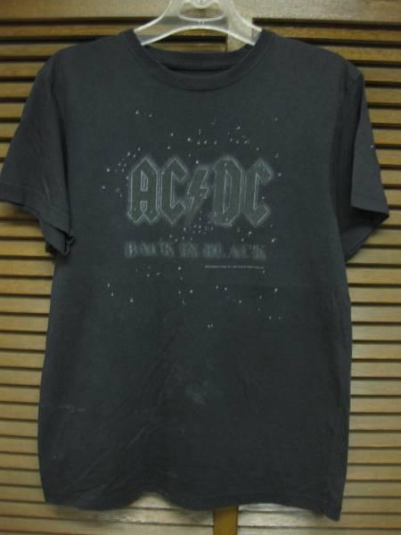 AC/DC Back in Black Tシャツ サイズ不明 USED 音楽 バンドT
