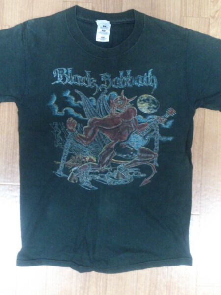 BLACK SABBATH ビンテージTシャツ 貴重品