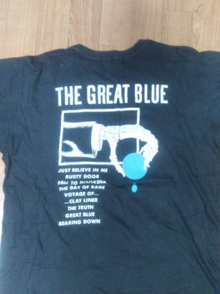 OUTRAGE THE GREAT BLUE ツアーTシャツ 貴重品
