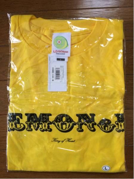 レア hide ヒデ lemonade King of Heart Tシャツ Lサイズ