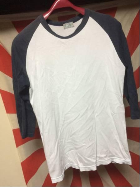 SKUNK ブランキージェットシティー スカルラグラン七分袖Tシャツ