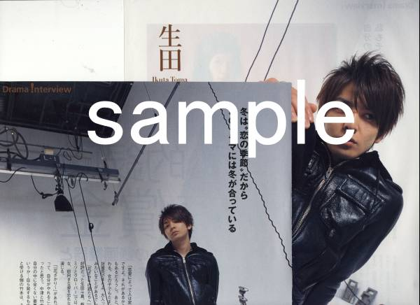 3p◆TVfan 2008.2 切抜き 生田斗真 ハチクロ 宮崎あおい 篤姫