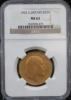 1902 イギリス エドワード7世 2ポンド金貨 (NGC社鑑定MS62)