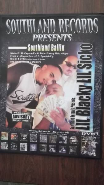 ☆LIL Blacky LIL Sicko Southland Ballin'のポスタ-!