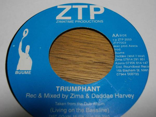 Zima [Indian chant] 7inch new roots EX reggae レゲエ ニュールーツ vintage ビンテージ record レコード uk イギリス アナログ analog _画像2