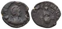古代ローマ帝国 皇后アエリア・エウドクシア 2,29 g / 17 mm