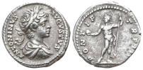 古代ローマ帝国 皇帝カラカラ 銀貨 3,19 g / 18 mm