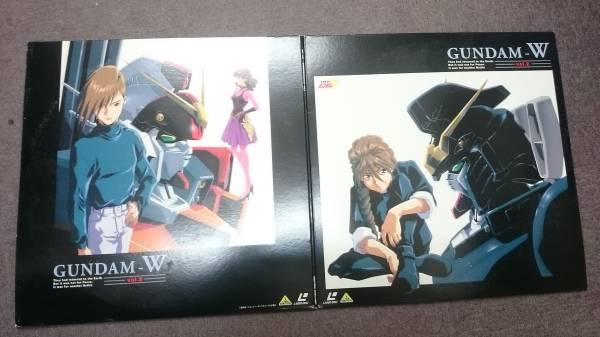 ガンダムレーザーディスク LD GUNDAM-W Vol.2_画像1
