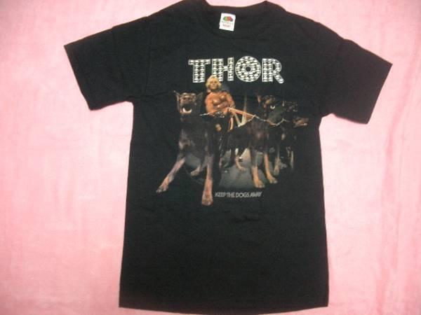THOR ソアー ロックT S バンドT ツアーT Tシャツ Manowar Ratt Dokken