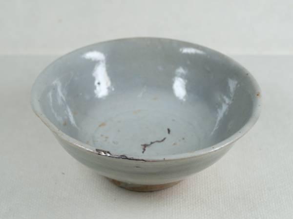 李朝 後期 白磁茶碗拍卖