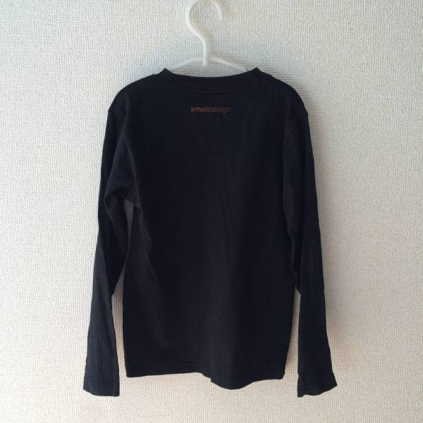 smalldesign ハロウィン カボチャ 長袖Tシャツ 110 中古_画像2