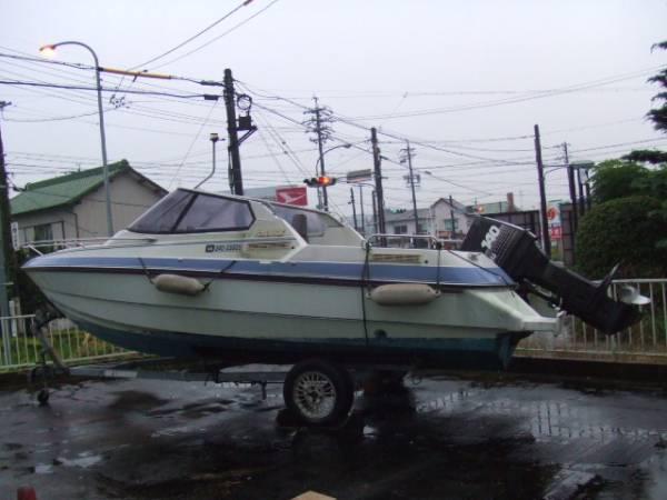 「ヤンマーF221-OB オープンボート 140馬力 自然排水」の画像3