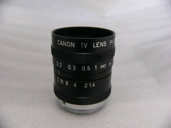 ★極上★ Canon Cマウント レンズ PHF6mm 1:1.4