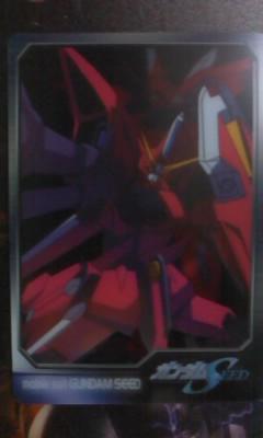 森永 ガンダム ウエハース カード S6ー22ー301 イージスガンダム_画像1