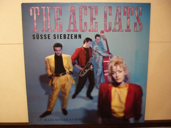 ACE CATS 12inch SUSSE SIEBZEHN ロカビリー_画像1