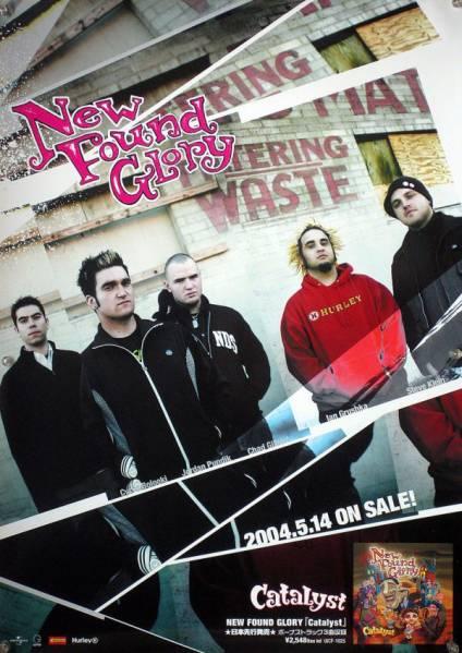 ニュー・ファウンド・グローリー NFG B2ポスター (1W01002)