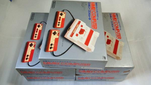 ファミリーコンピュータ本体5台 ファミコン ジャンク ※同梱不可