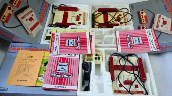 ファミリーコンピュータ本体5台 ファミコン ジャンク ※同梱不可_画像2