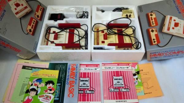 ファミリーコンピュータ本体5台 ファミコン ジャンク ※同梱不可_画像3