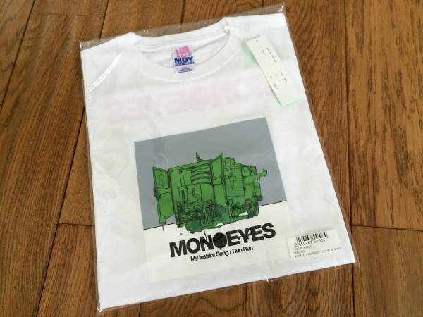 レア!MONOEYES × MACKDADDY コラボTシャツ ホワイト S ライブグッズの画像