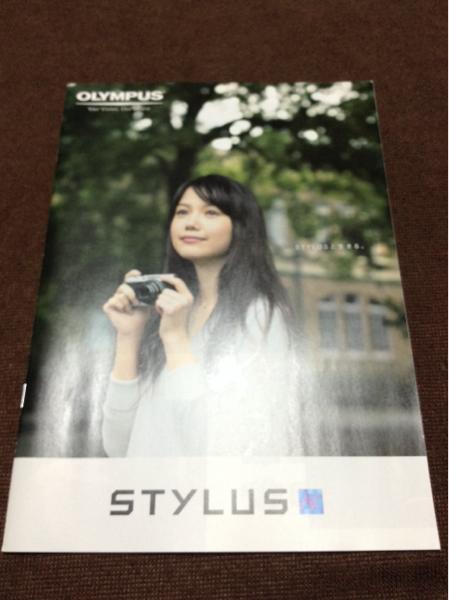⑤宮崎あおいの表紙 OLYMPUS オリンパス カタログ