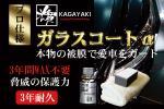 プロ仕様 高濃度ボディガラスコーティング剤 「輝 GlassCoatα」