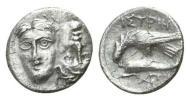 紀元前 古代ギリシャ 銀貨 双子の神ディオスクロイ